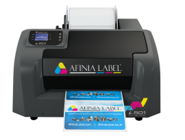 L501 is the first label printer with Duo Ink Technology
